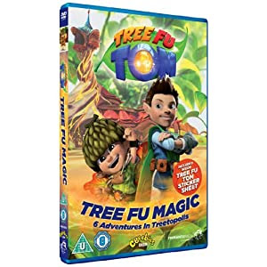 DVD, CBeebies, Tree Fu Tom