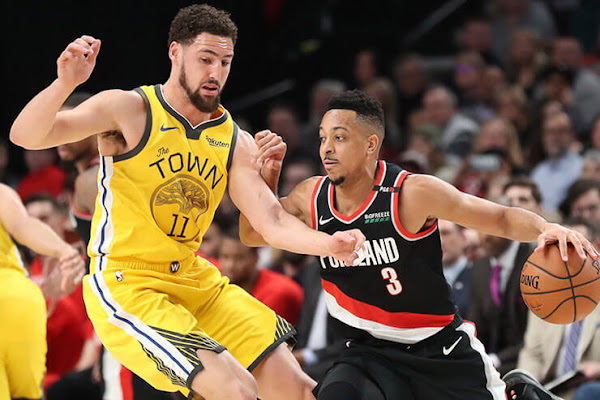 af79c590339d Trail Blazers at Warriors NBA betting picks and predictions  Golden State  to contain McCollum