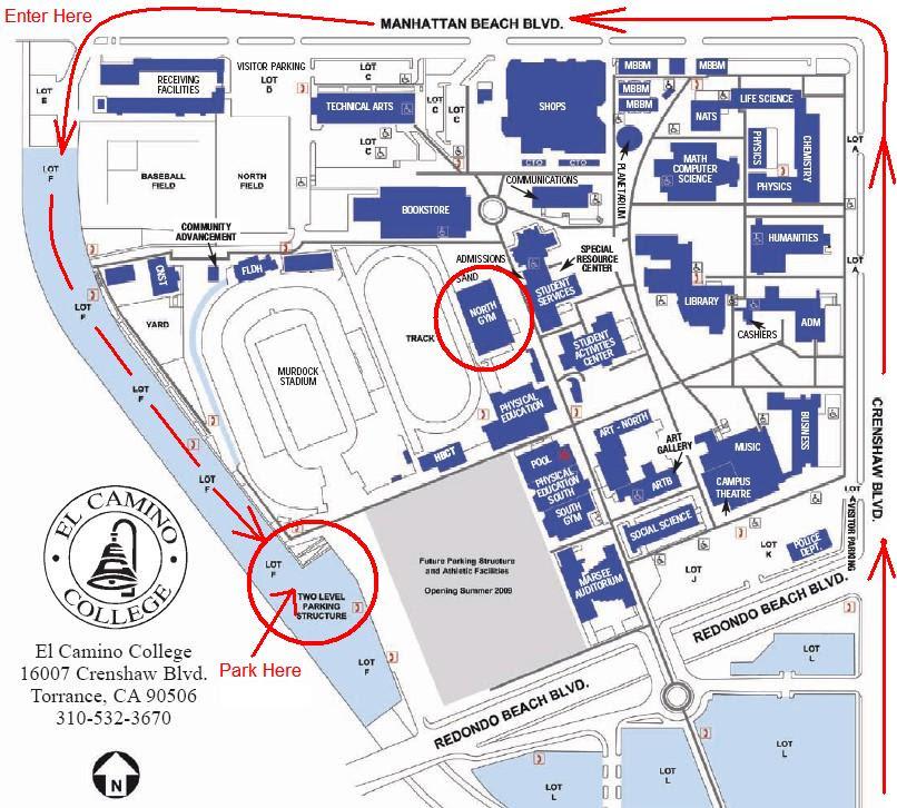 El Camino College Campus Map El Camino College Map | Bedroom 2018