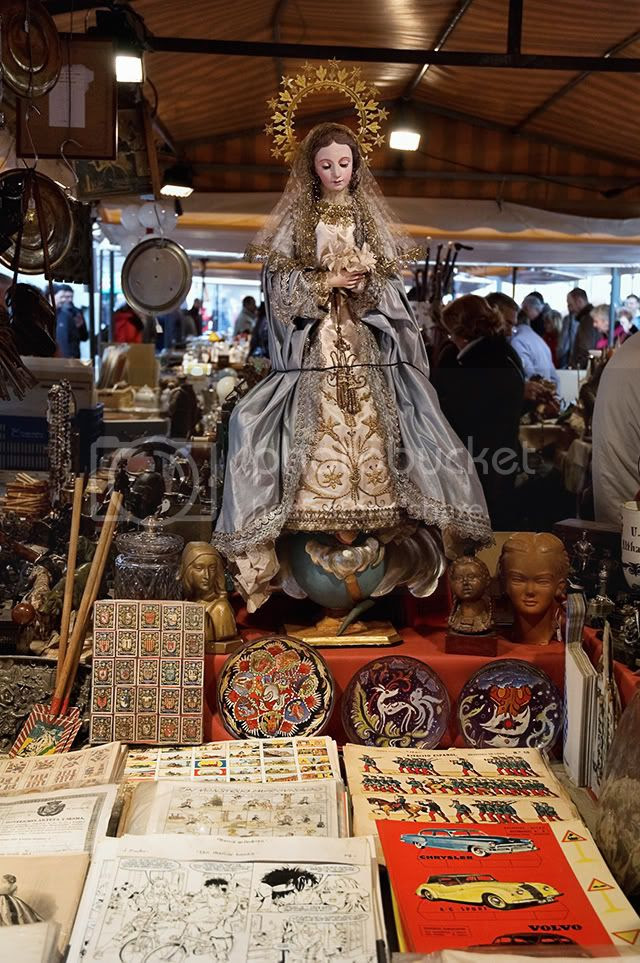 Antiques Market, Barcelona: Virgin [enlarge]