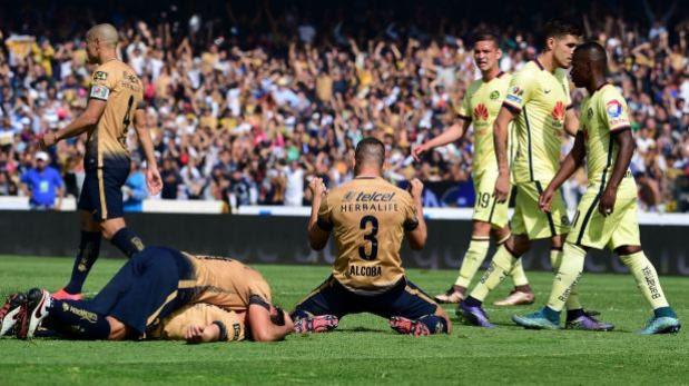 Pumas cayó 3-1 con América pero clasificó a la final en México