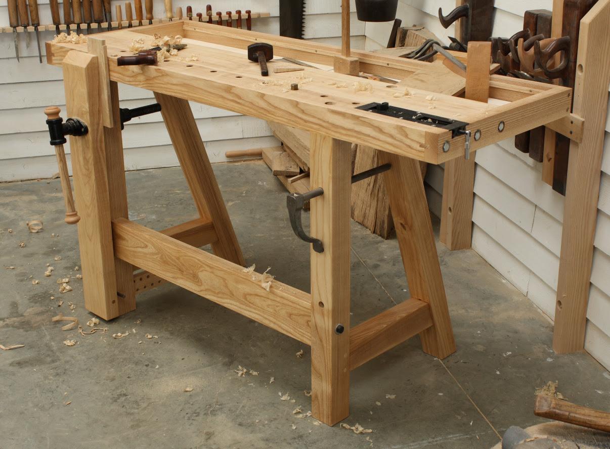 Fine Woodworking Plans Workbench Free Contemporary Adirondack