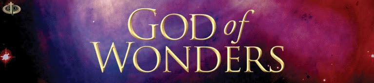 Image result for God of Wonders