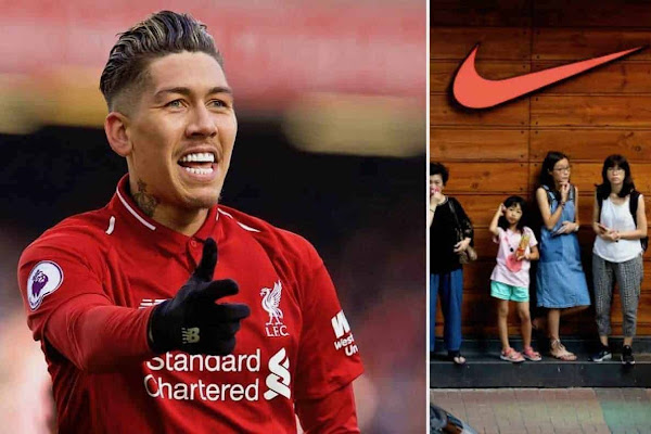 6ca02cb6159 Liverpool in  advanced talks  over record-breaking kit deal with Nike