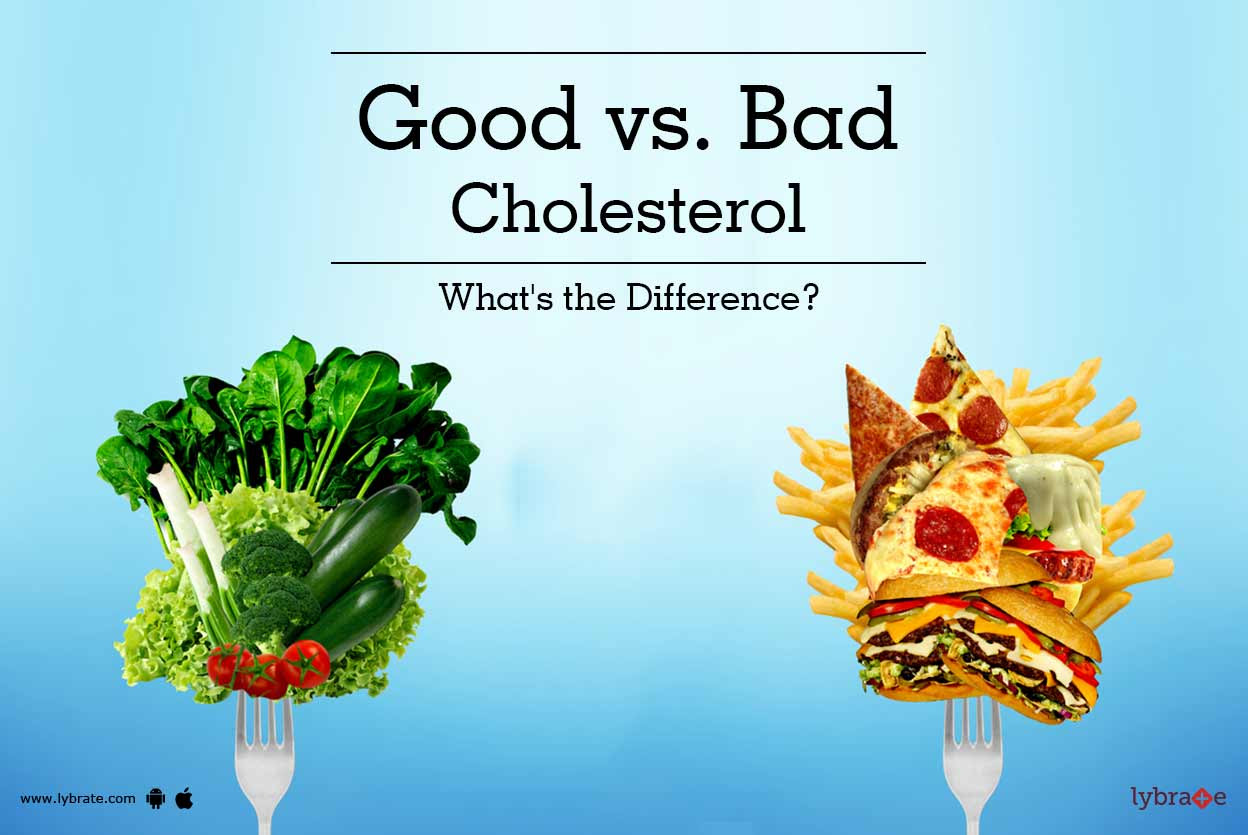Cholesterol good vs bad - Know the difference!