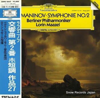 MAAZEL, LORIN rachmaninov; symphony no2