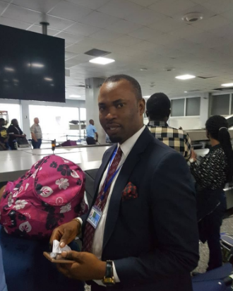 Security officials at Murtala Muhammed International airport, Lagos fail to apprehend alleged kidnapper