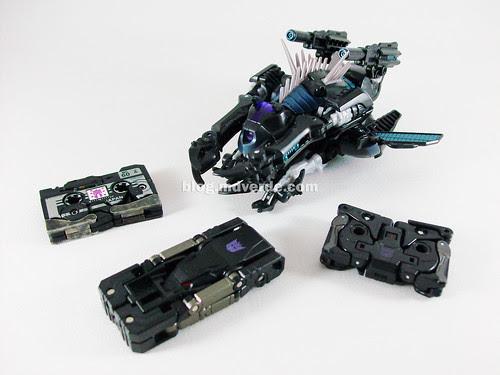 Transformers Ravage RotF Deluxe - modo alterno