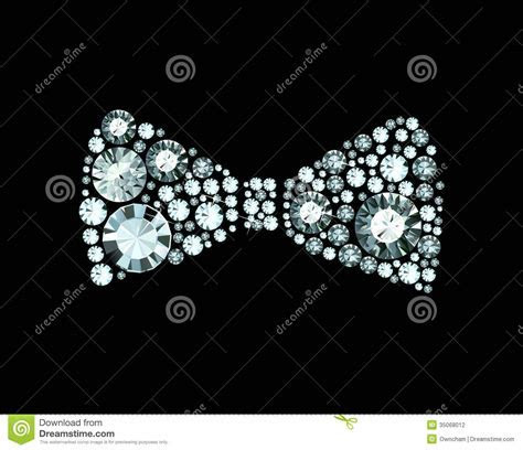 Diamond Bow Tie Stock Photography   Image: 35068012