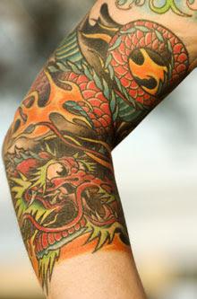 Chinese Tattoo Yin Yang Phoenix Dragon Chinese Symbol Tattoos