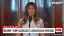 Melania Trump: Adults Should 'Take The Lead' In Encouraging Positive Social Media Habits