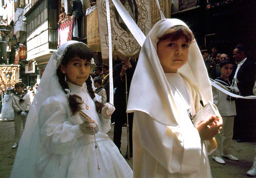 Corpus Christi de Toledo en 1967. Fotografía de John Fyfe