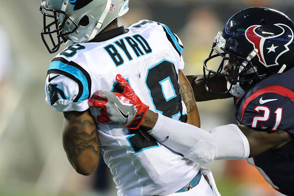 781e1511cb2 Panthers vs Texans Final Score: McCaffrey and Byrd impress as Panthers win  27-17