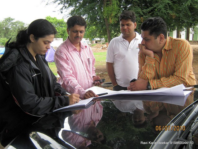 Architect Manisha Soman, Architect Girish Bramhe, Nitin Kulkarni and Sachin Kulkarni
