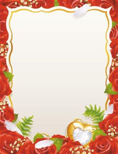 Wedding card vector templates