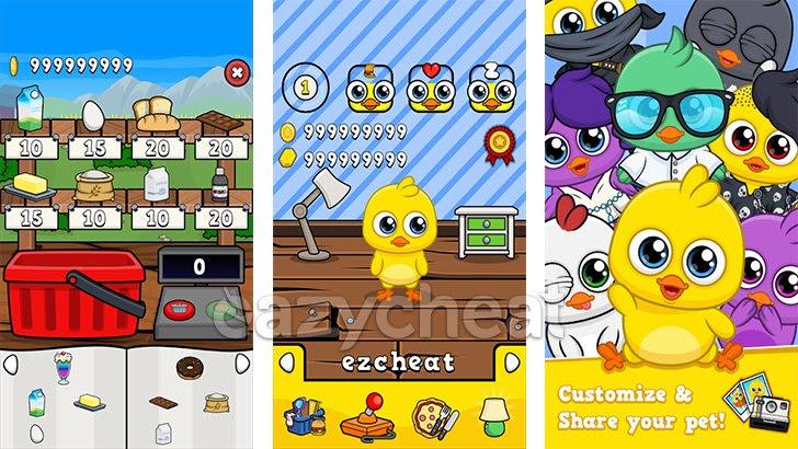 My Chicken - Virtual Pet Game v1.02 Cheats