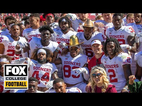Go On The Field With Oklahoma After Their Red River Showdown Win vs. Texas | EXCLUSIVE