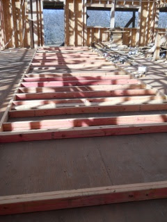 House Internal Wall Frame Before Raising