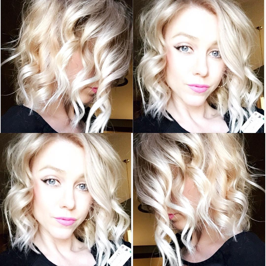 Pretty Medium Wavy Hair Styles Shoulder Length Haircut For Women