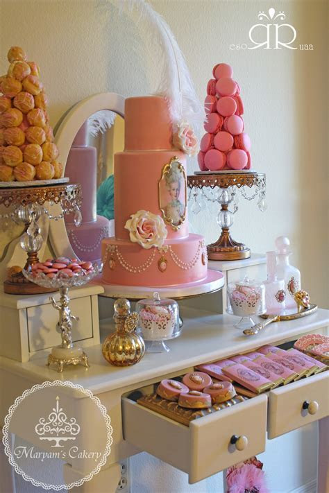 Marie Antoinette Vintage Birthday Party   Birthday Party