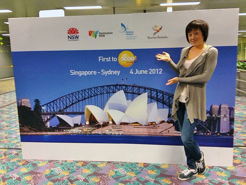 First to Scoot to Sydney!