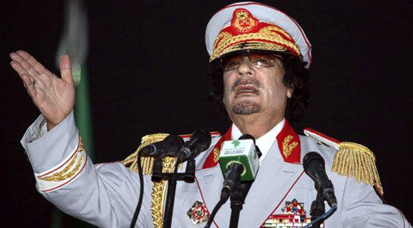 Moammar Gadhafi (1942-2011).
