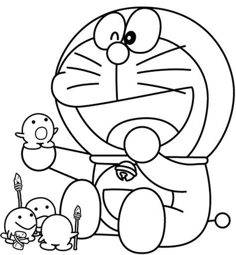 mewarnai gambar doraemon bonikids coloring page