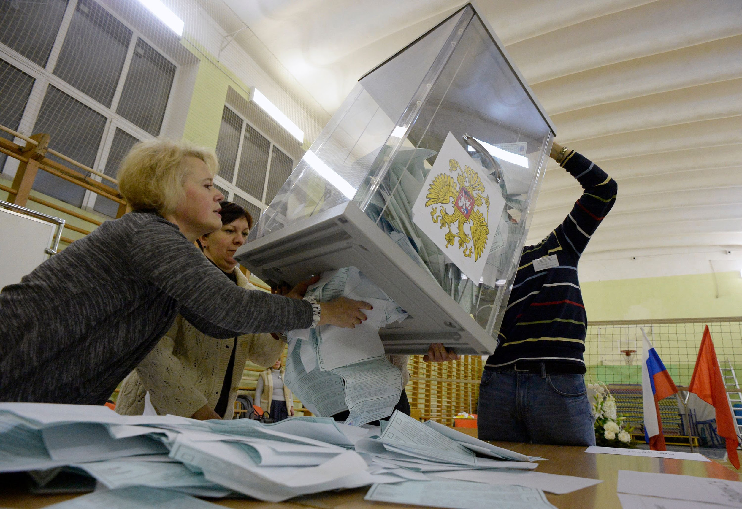Putin coasts to victory in Russian presidential election