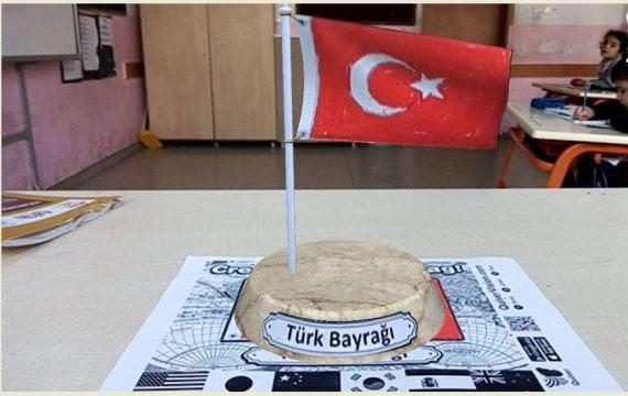 Türk Bayrağımızı Quiver Uygulamasıyla 3 Boyutlu Izledik Eğitim
