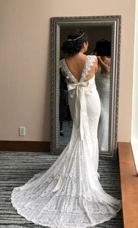 Anna Campbell Ruby dress Wedding Dress   Used, Size: 10