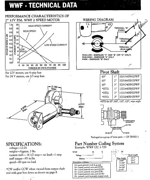Wiper Motor Wiring American Bosch Ecj5