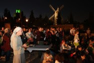Prayer rally held in Jerusalem for Syrian people on Monday night before Yom Kippur 5777.