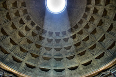 Looking up - in Rome