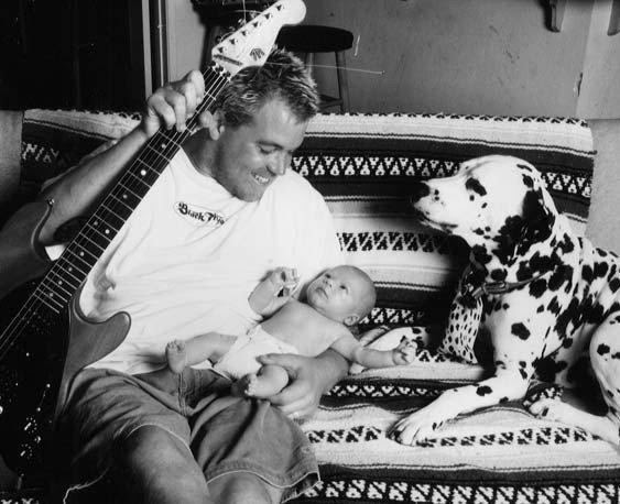 Image result for bradley nowell with son