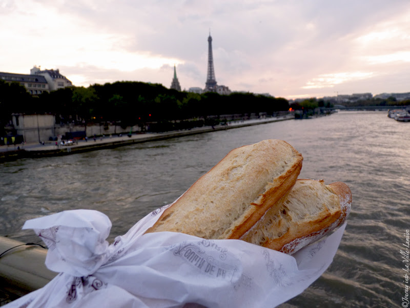 Baguette and the view