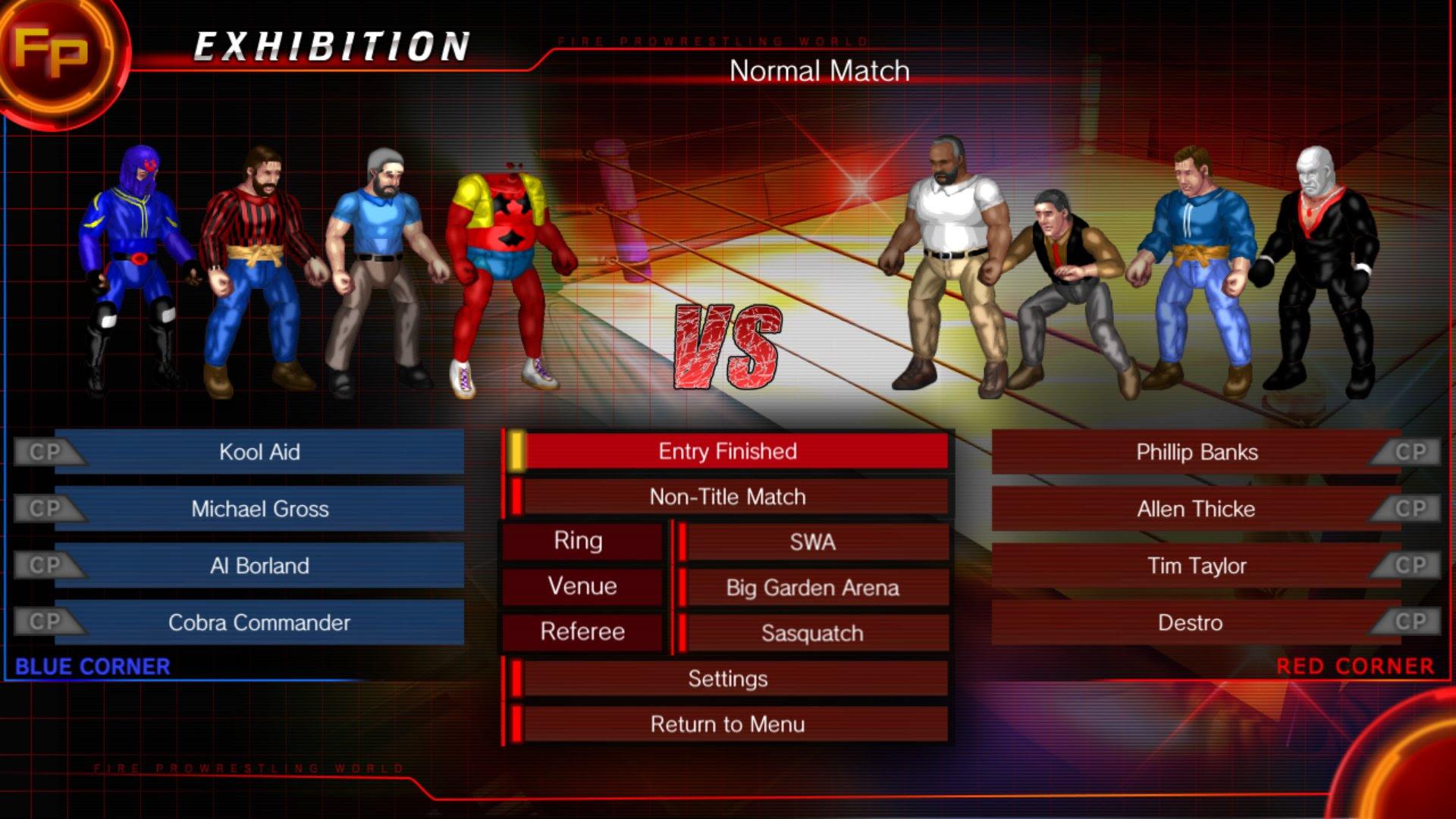 Live Show: Fire Pro Wrestling World screenshot
