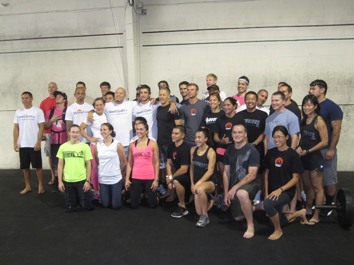 Day 1 Results: Hawaii Sectional : 2010 CrossFit Games