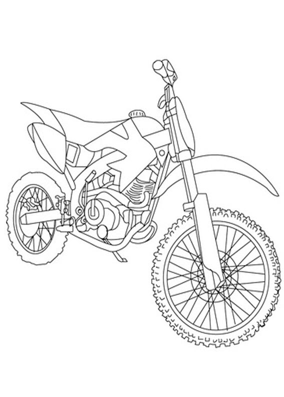 Selezionato Moto Da Cross Da Colorare Le Migliori