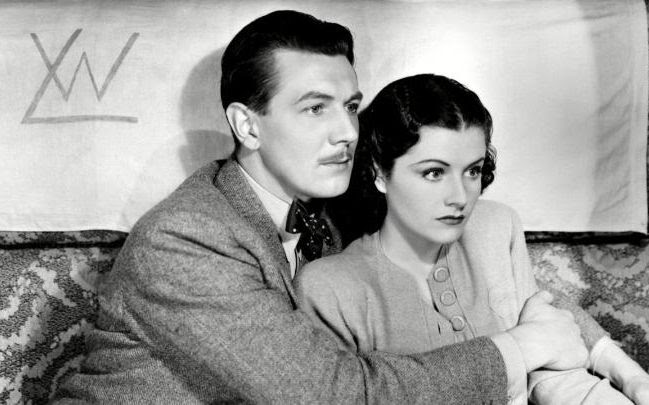 A clip from the film The Lady Vanishes