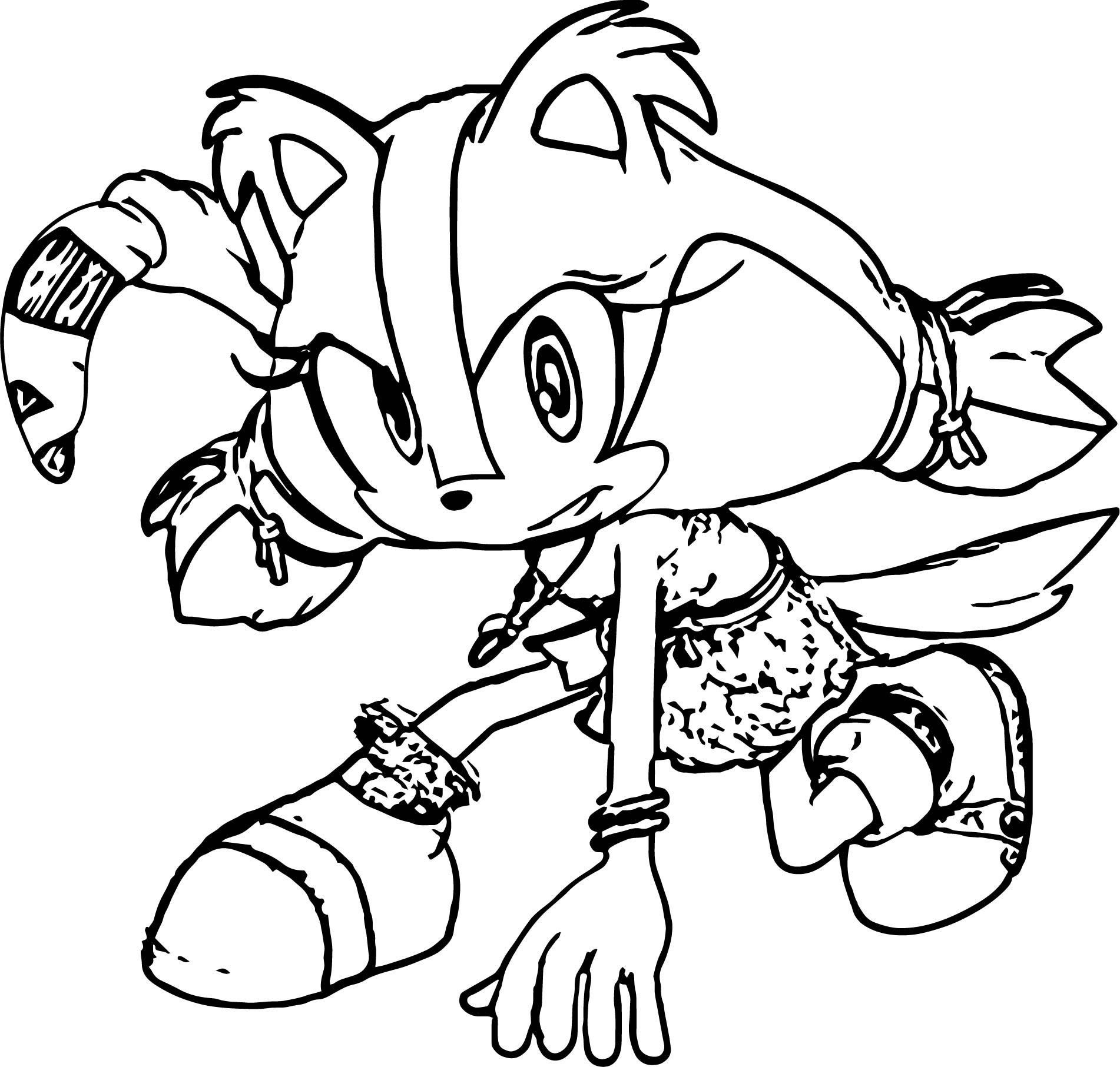 Sonic The Hedgehog Coloring Page WeColoringPage 008 ...