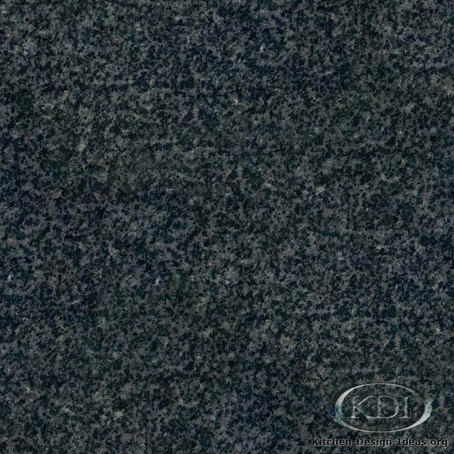Dark Grey Granite - Kitchen Countertop Ideas