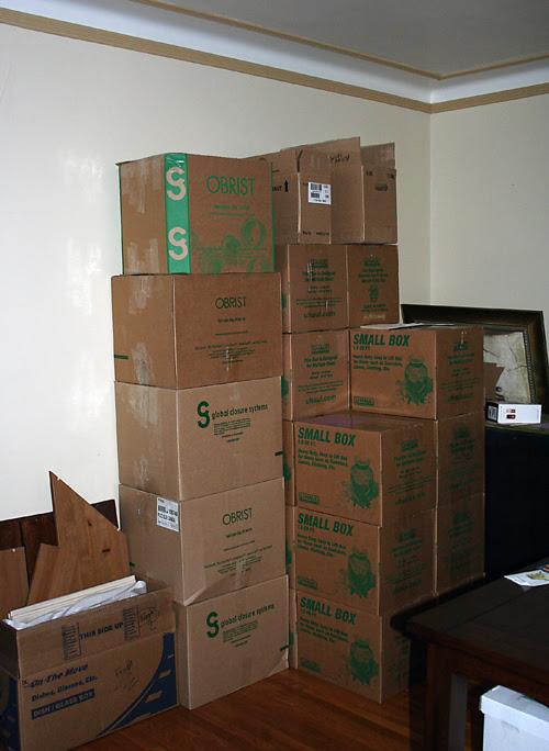 moving weekend.