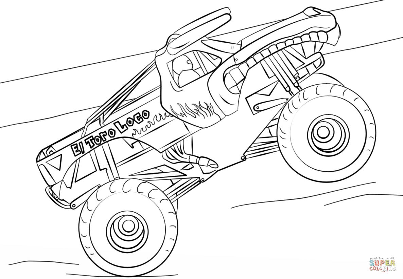 the El Toro Loco Monster Truck