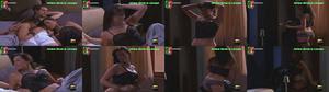 Adriane Garcia sensual em lingerie na serie Pai à Força