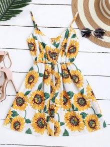 Cami Smocked Floral Mini Dress