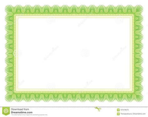 Certificate Frame   Border stock vector. Illustration of