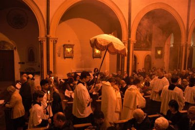 The Procession to the Altar of Repose