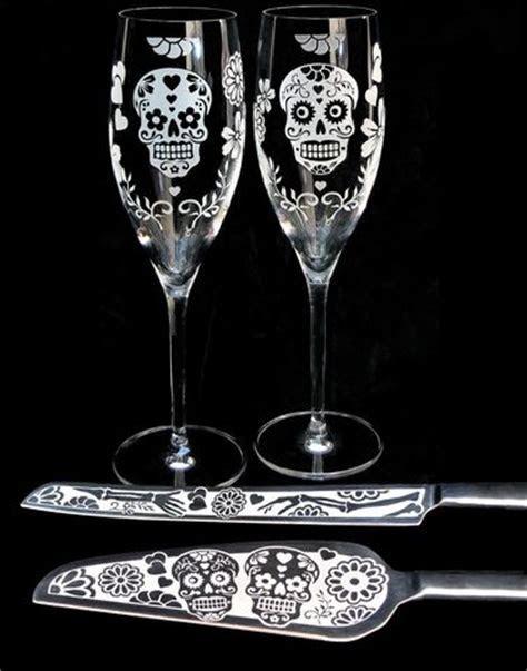 Celtic Tree of Life Champagne Glasses, Irish Wedding Gifts