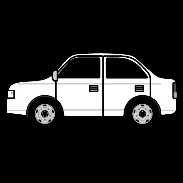 かわいい車の無料イラスト商用フリー オイデ43