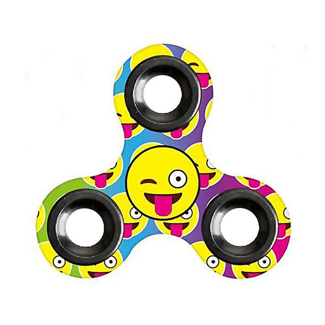Fid Spinner emoji Triangle Gyro Hand Spinner finger spinner toy